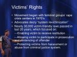 victims rights