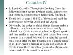 causation iv