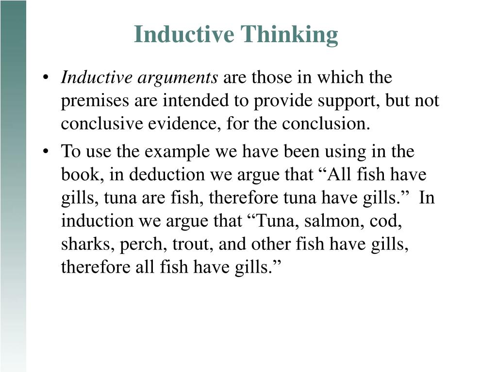 inductive thinking l.