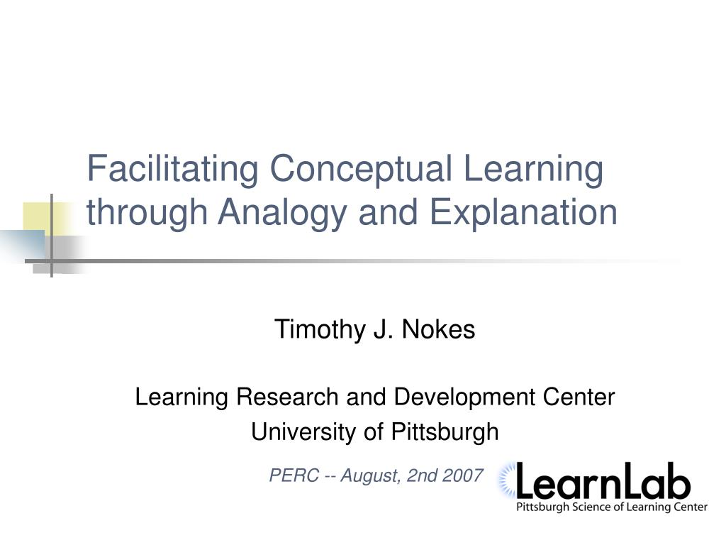 Facilitating Conceptual Learning through Analogy and Explanation
