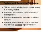 police and domestic violence