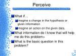 perceive4