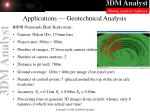 applications geotechnical analysis