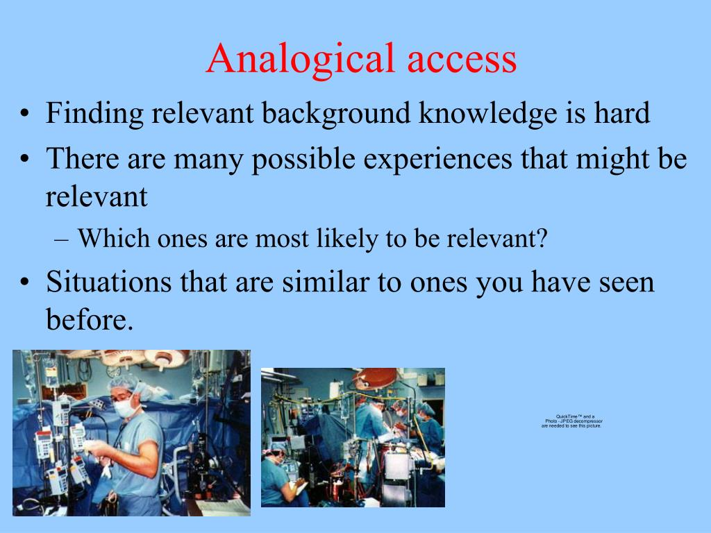 Analogical access