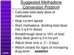 suggested methadone conversion protocol