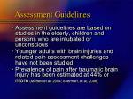 assessment guidelines16