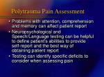 polytrauma pain assessment11