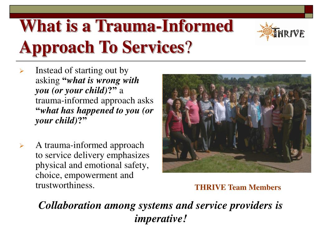 What is a Trauma-Informed