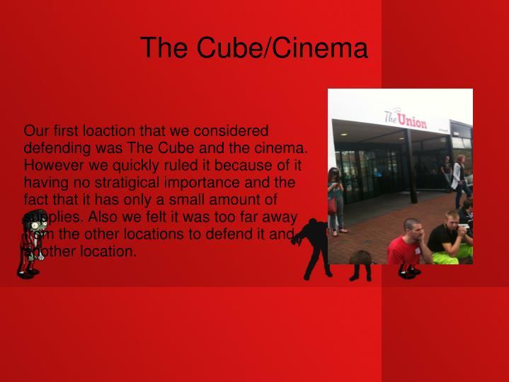 The cube cinema