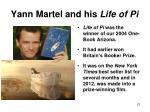 yann martel and his life of pi