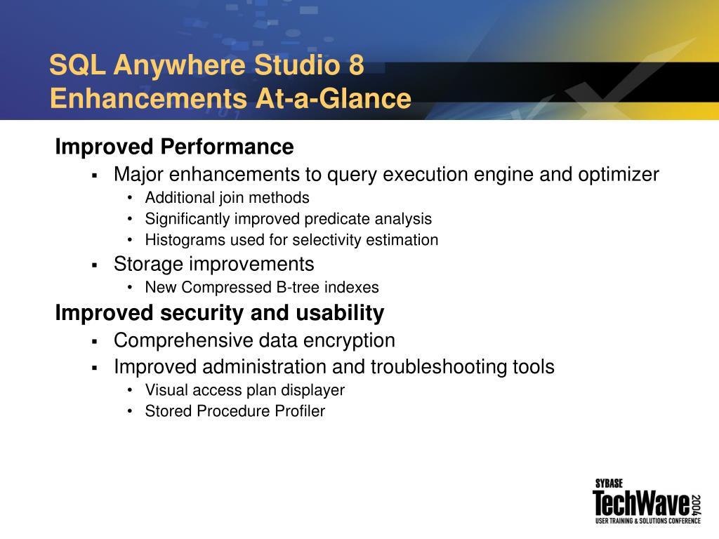 SQL Anywhere Studio 8