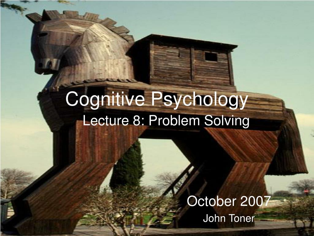 cognitive psychology l.