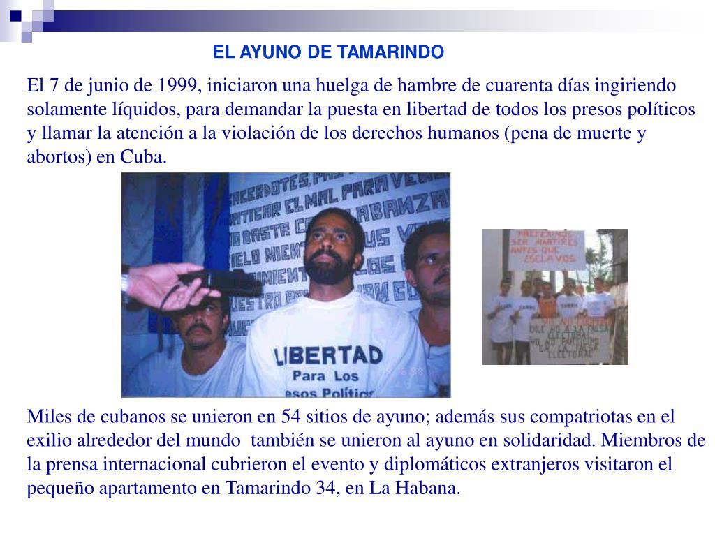 EL AYUNO DE TAMARINDO