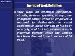 energized work definition