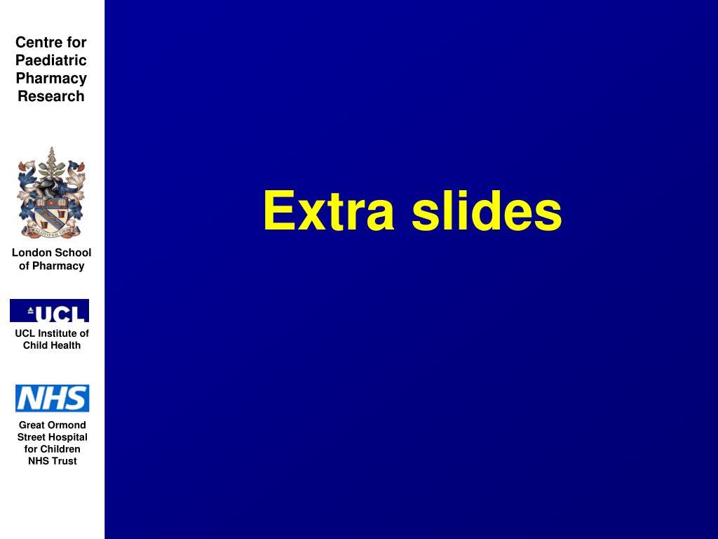 Extra slides