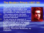 the modern prince 1927 36