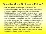 does the music biz have a future16