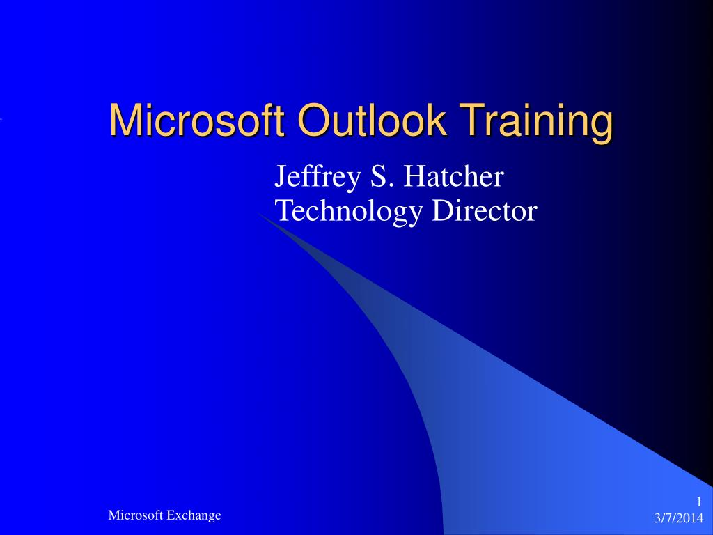 microsoft outlook training l.