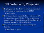 no production by phagocytes