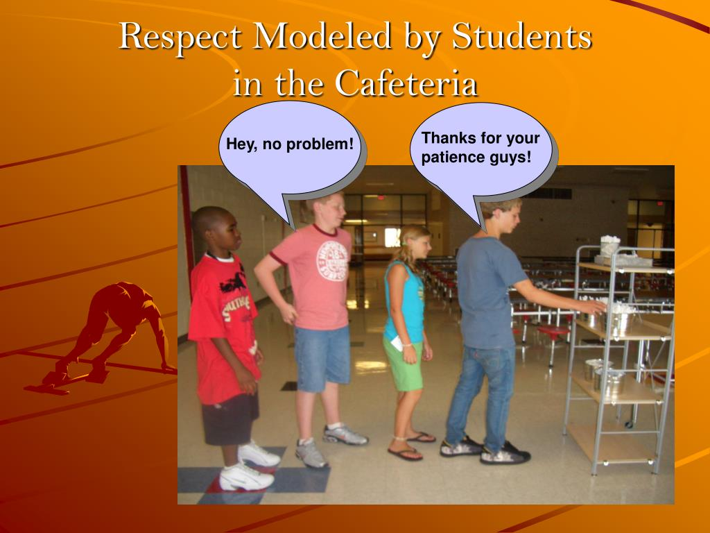 Respect Modeled by Students
