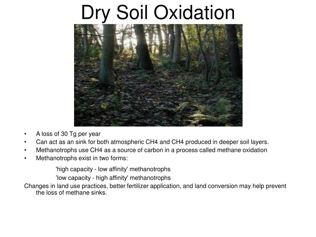 Dry Soil Oxidation