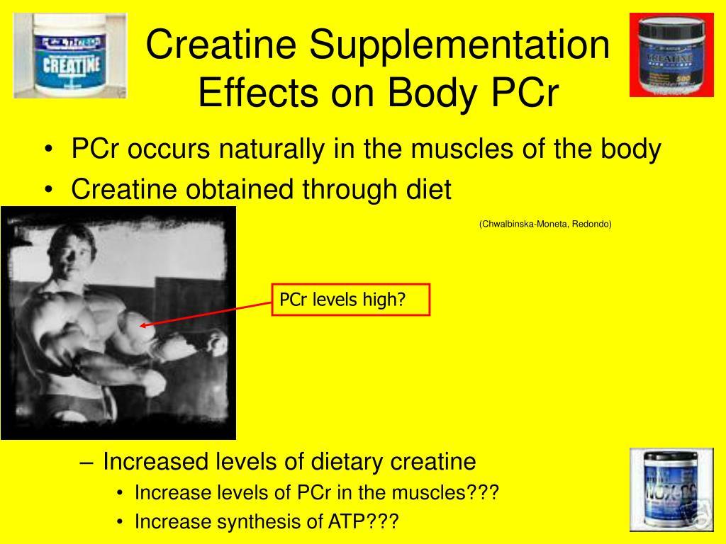 Creatine Supplementation Effects on Body PCr