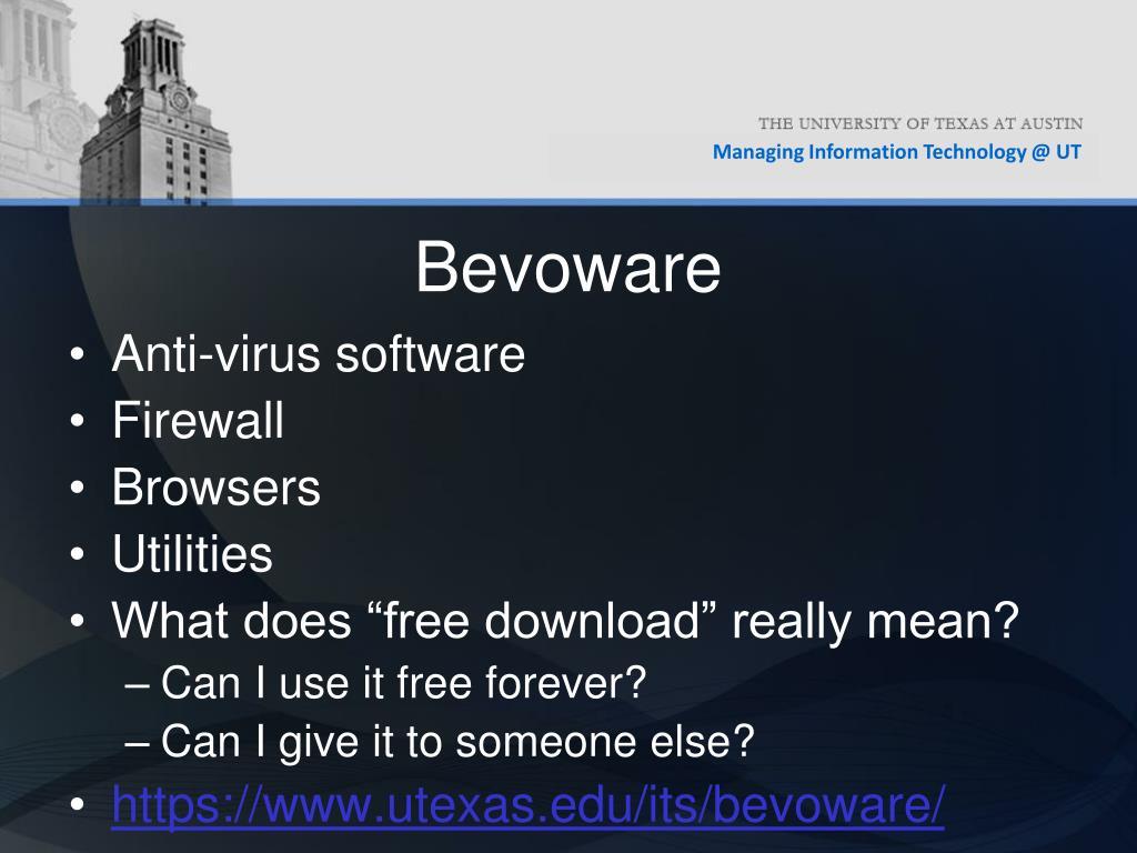 Bevoware
