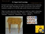 12 supervised learning