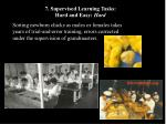 7 supervised learning tasks hard and easy hard