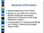 business information20