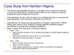 case study from northern nigeria