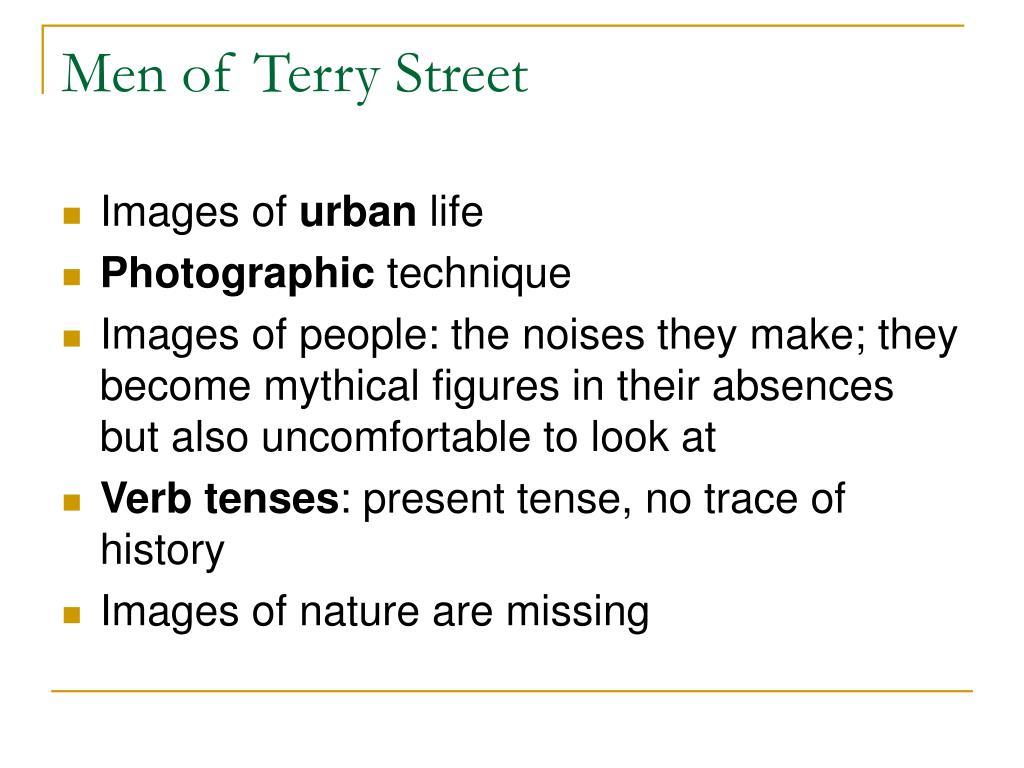 Men of Terry Street