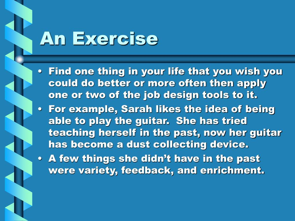 An Exercise