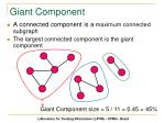 giant component26