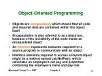 object oriented programming14