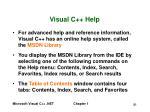 visual c help51