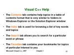 visual c help52