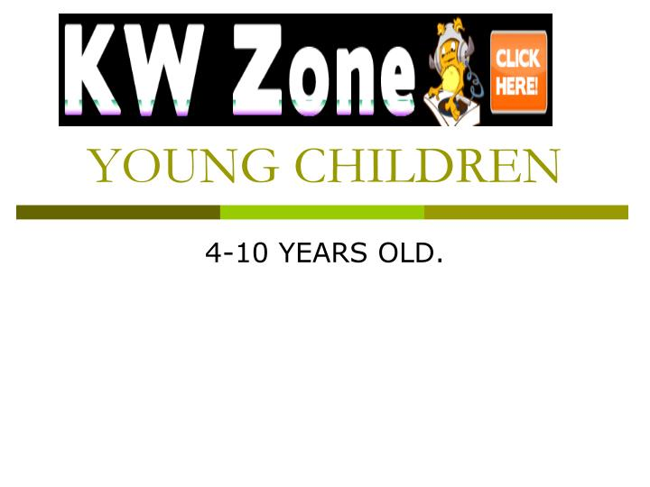young children n.