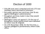 election of 1830