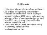 poll books