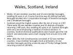 wales scotland ireland