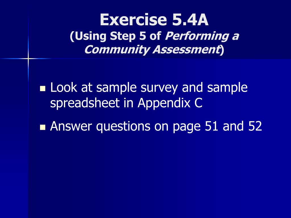 Exercise 5.4A