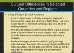 cultural differences in selected countries and regions32
