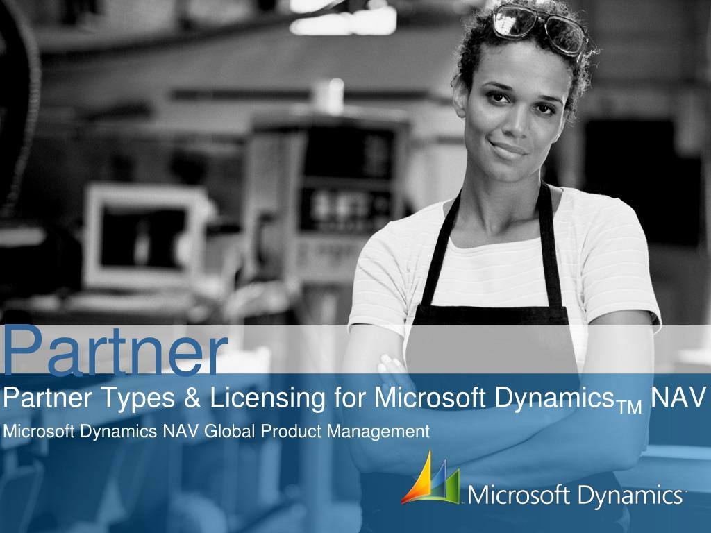 partner types licensing for microsoft dynamics tm nav l.