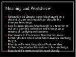 meaning and worldview