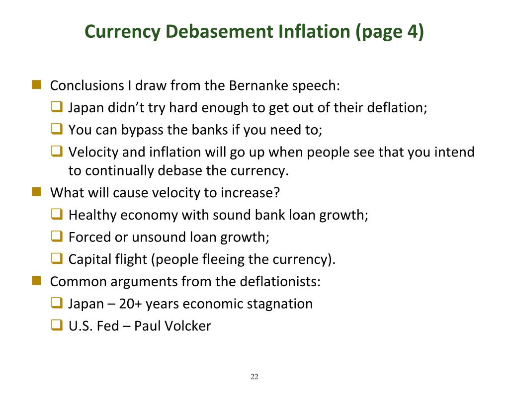 Currency Debasement Inflation (page 4)