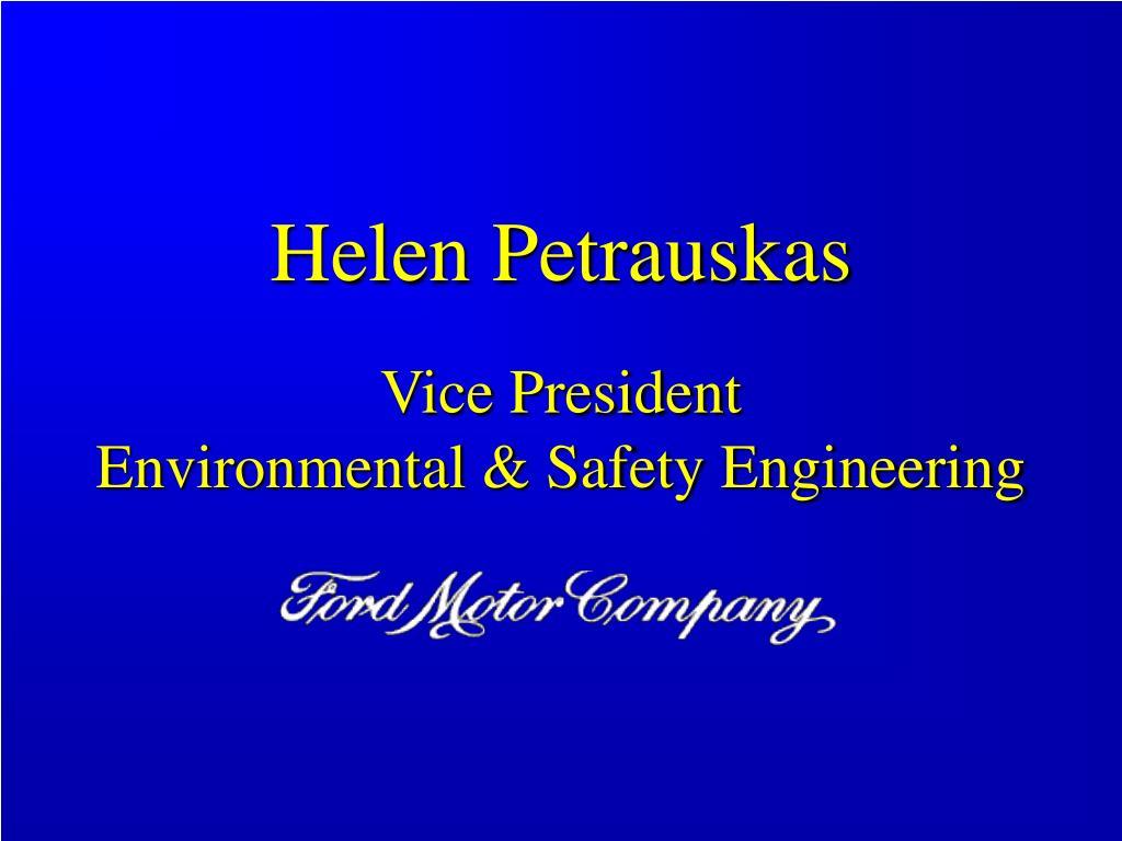 Helen Petrauskas