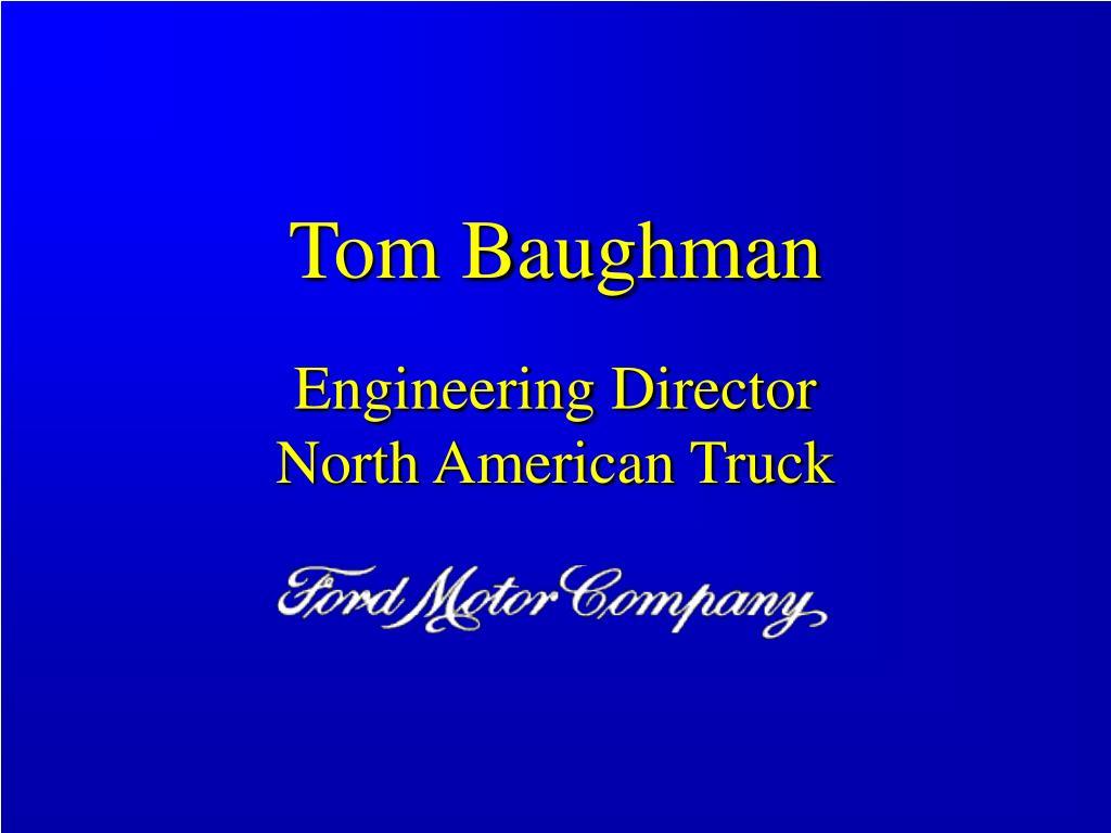 Tom Baughman