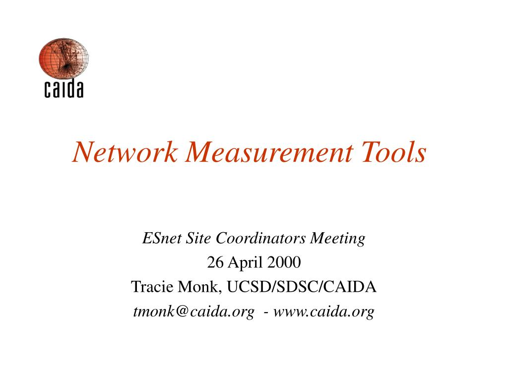 network measurement tools l.