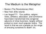 the medium is the metaphor